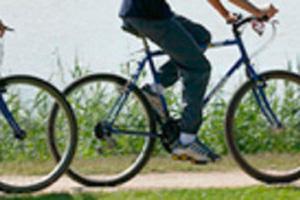 cyclistes sur le chemin de Charente