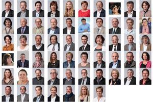 mosaïque des élus de la CARO