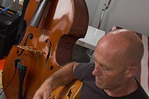 musicien à un répétition
